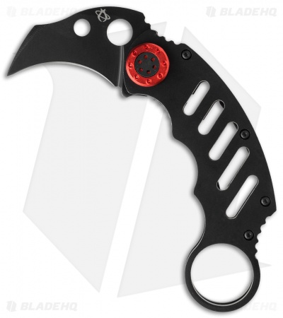"Mantis Cinq 1 Karambit Fighter Knife (2"" Black ) MK-1"