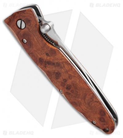 "Mcusta Basic MC-26 Liner Lock Knife Quincewood (3.25"" Plain)"