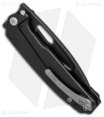 "Medford Infraction Frame Lock Knife Black Titanium (3.6"" S35VN Black)"