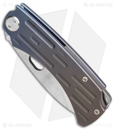 "Medford Colonial T Frame Lock Knife Fade Anodized Ti (3.5"" SW 3V) MKT"
