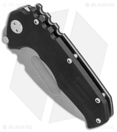"Medford Production Praetorian Liner Lock Knife Black G-10 (3.75"" BB/SW) MKT"