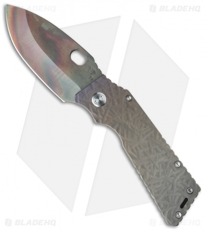 "Medford TFF-1 Big Daddy Knife Sculpted Bronze Ano Ti (4"" Vulcan) MKT"