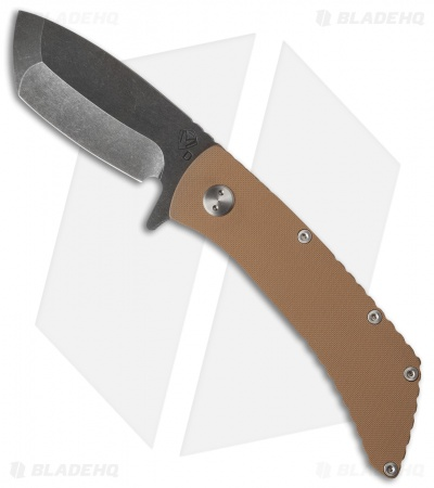 "Medford TFF-2 Flipper Frame Lock Knife Coyote G-10 (4"" Black SW) MKT"