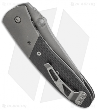 "Microtech Lightfoot Compact Combat LCC M/A Manual Knife (3.5"" Bead Blast) 9/2000"