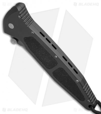 "Microtech Socom M/A Folding Knife (4"" Black Serr) 06/1998"