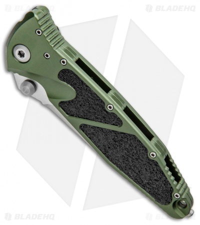 "Microtech Socom Elite Manual Knife OD Green (4"" Stonewash) 160-10OD"