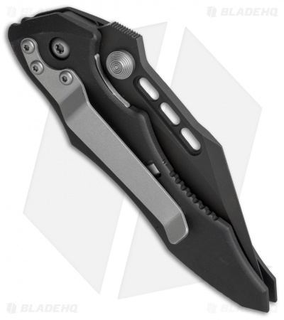 "Microtech Vector Manual Knife (3.125"" Black Serr) 08/1999"