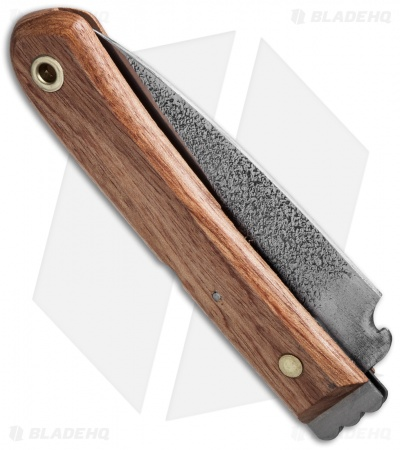"Mikihisa Double Bevel Moroha Folder Cherry Wood (4"" Aogami) Japan"