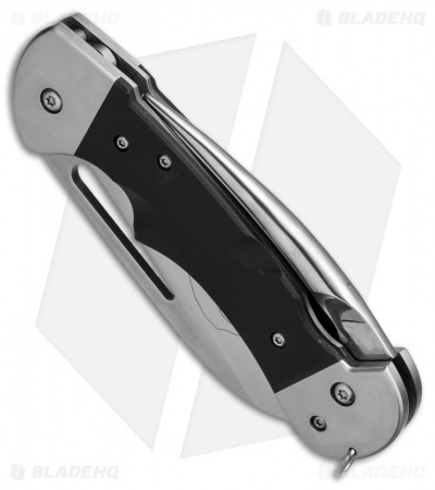 "Myerchin Gen. 2 Captain Pro Liner Lock Knife Black G-10 (3.25"" Satin Serr)"