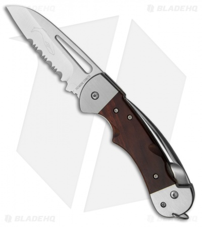 "Myerchin Gen. 2 Captain Pro Liner Lock Knife Hardwood (3.25"" Satin Serr)"