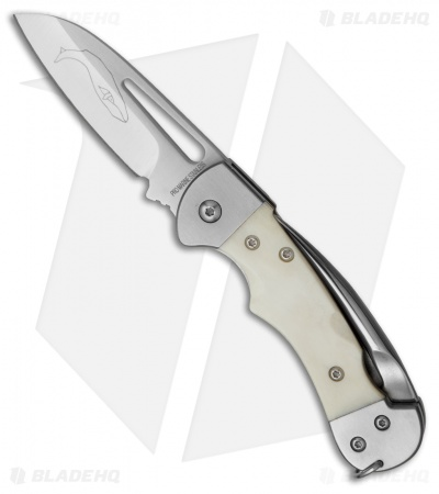 "Myerchin Gen. 2 Crew Liner Lock Knife Natural Bone (2.5"" Satin)"