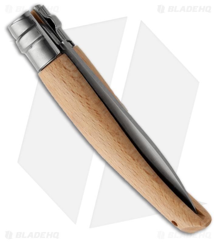 Opinel Garden Knife No 8 Folding Knife Beechwood 325 Satin