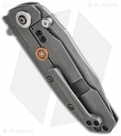 "Reate Knives District 9 Plus Frame Lock Knife Titanium (3.75"" Dark SW)"