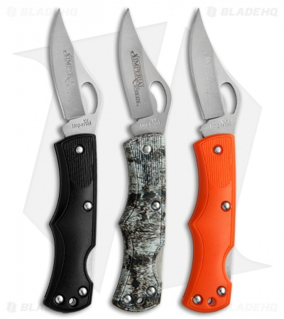 "Schrade Imperial Lockback Knife 3-Pack (2.25"" Satin) SCPROM-16-38CP"