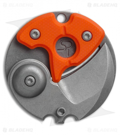 "Serge Panchenko Coin Claw Folder Knife Orange G-10 (1"" Tumbled)"