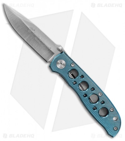 "Smith & Wesson Extreme OPS Folding Knife Blue (3.25"" Satin) CK105BL"