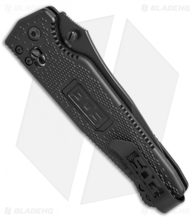 "SOG Vision Arc Drop Point Arc-Lock Knife (4"" Black) VS03"