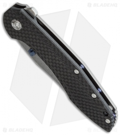 "Southard Performance Series Tolk Flipper Knife Carbon Fiber (3.875"" Satin)"