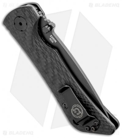 "Southern Grind Spider Monkey Liner Lock Knife (3.25"" Black Serr)"