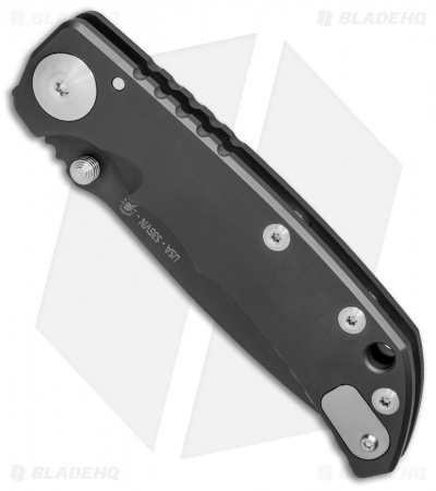 "Spartan Blades Harsey Folder Frame Lock Knife Titanium (3.8"" Black PVD) SF5BK"
