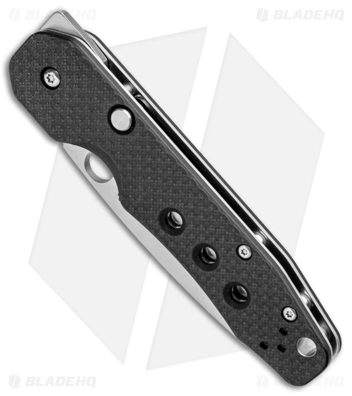 Spyderco Smock Compression Lock Knife Carbon Fiber (3 4