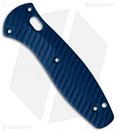 Allen Putman Benchmade Barrage Custom Sculpted G-10 Replacement Scales (Blue)