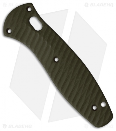 Allen Putman Benchmade Barrage Custom Sculpted G10 Replacement Scales (OD Green)