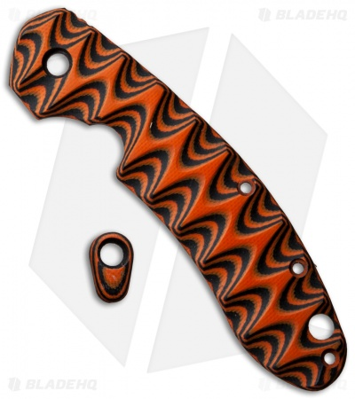 Spyderco Southard Orange/Black G-10 Replacement Scale by The Preacher