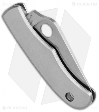 "Spyderco Stainless Bug SS Mini Folding Keychain Knife (1.31"" Satin) C133P"