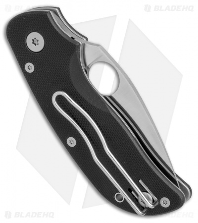"Spyderco Cat G-10 Folding Knife (2.44"" Satin Plain) C129GP"