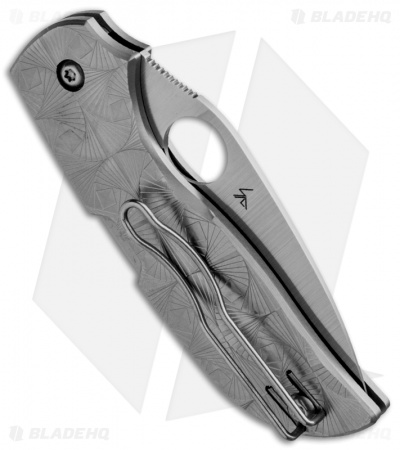 "Spyderco Chaparral 3 Stepped Titanium Folding Knife (2.75"" Satin) C152STIP"