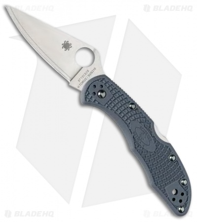 Spyderco Delica 4 Sprint Run Knife Blue/Gray FRN (V-Toku2/SUS310) C11FPBLE