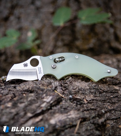 "Spyderco M4 Dodo Knife Natural G-10 (2.06"" Satin) C80GM4P Exclusive"