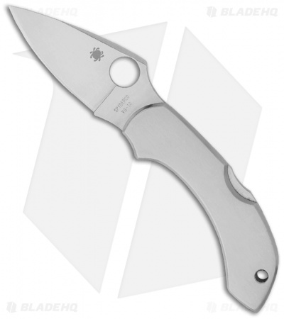 "Spyderco Dragonfly Lockback Knife Stainless Steel (2.3"" Satin) C28P"
