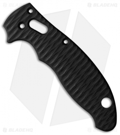 Allen Putman Spyderco Manix 2 Custom Sculpted G-10 Replacement Scales (Black)