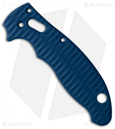 Allen Putman Spyderco Manix 2 Custom Sculpted G-10 Replacement Scales (Blue)