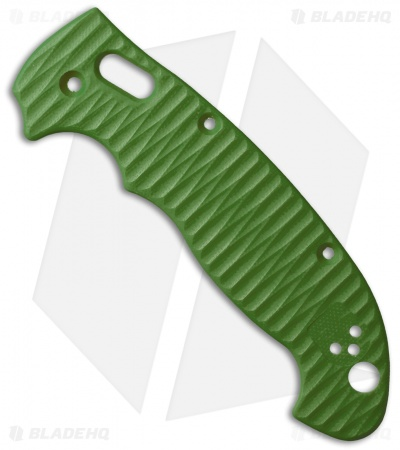 Allen Putman Spyderco Manix 2 XL Custom Sculpted G-10 Replacement Scales (Green)
