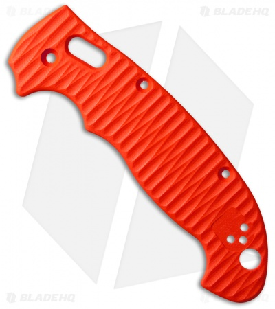 Allen Putman Spyderco Manix 2 XL Custom Sculpted G-10 Replacement Scales Orange
