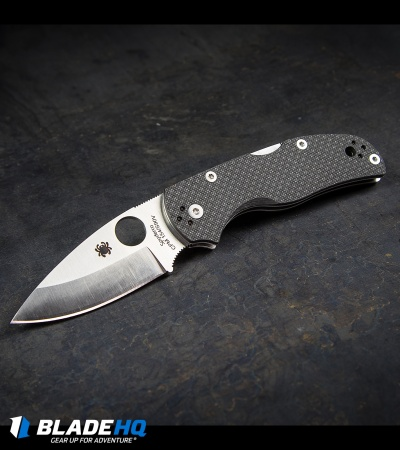 "Spyderco Native 5 Sprint Run Knife Carbon Fiber (3"" CPM-154/S90V) C41CFPE5"