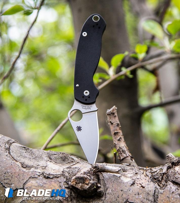 Spyderco Para 3 Compression Lock Knife Black (3