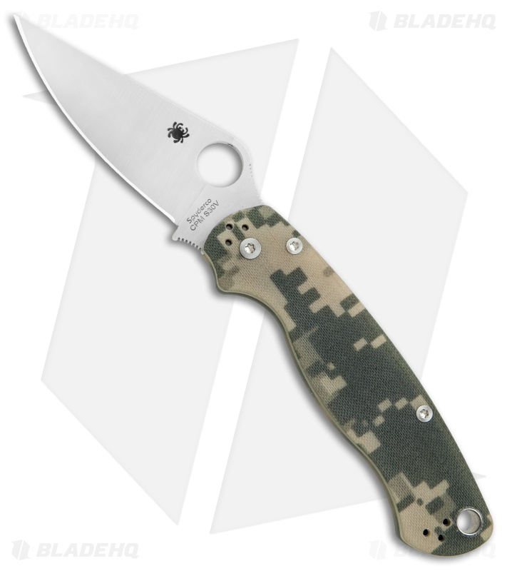 Spyderco Paramilitary 2 Knives - PM2 Compression Lock | Blade HQ