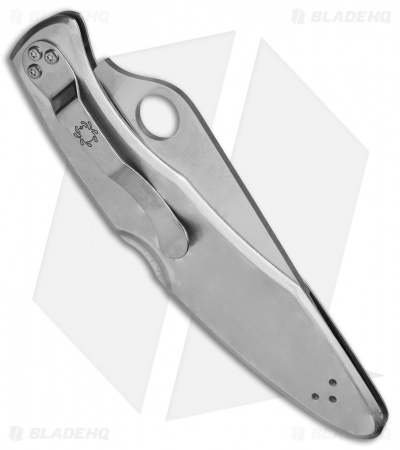 "Spyderco Police Stainless Steel Folding Knife C07PS (4.125"" Satin Serr)"