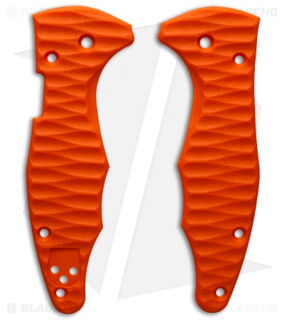 Spyderco Yojimbo 2 Replacement Scale by Allen Putman (Orange G-10)