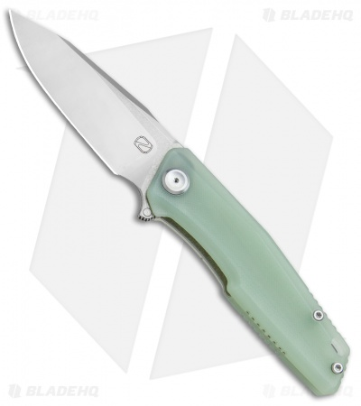 "Stedemon Knife Co. ZKC C02 Liner Lock Knife Jade G-10 (3.75"" Satin)"
