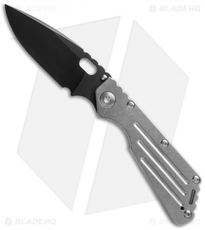 "Mick Strider Custom MSC Performance Series SMF Knife Full Ti (3.9"" Black)"
