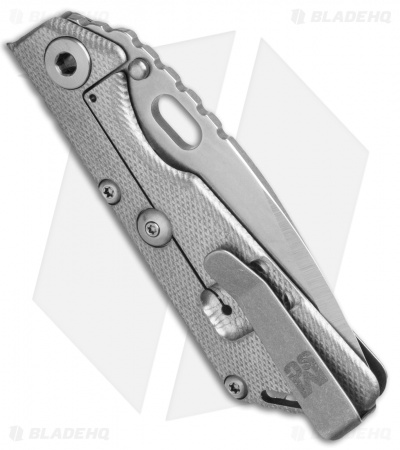 Mick Strider MCS Custom SnG CC Knife Knurled Ti (Nightmare)