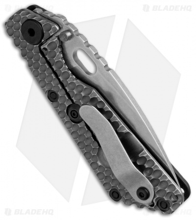 "Strider SnG GG Gunner Grip Frame Lock Knife Black G-10 (3.5"" Stonewash)"