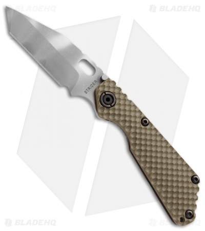 "Strider SnG CPM-110V Tanto GG Gunner Grip Knife (3.5"" Ghost Stripe)"