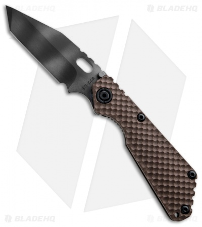 "Strider Knives SnG Tanto 3/4 Coyote GG Gunner Grip Knife (3.5"" Tiger Stripe)"
