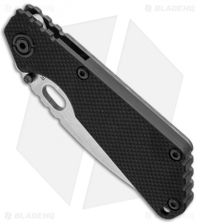 "Strider SnG Frame Lock Knife Black G-10/Heat Stripe Ti (3.5"" Stonewash)"